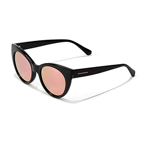 HAWKERS Divine Gafas de Sol, Black · Rose Gold, Talla única para Mujer