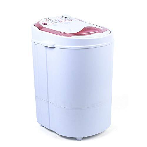 6 kg Waschmaschine Dehydration Waschmaschine Haushaltswaschmaschine 2 Farbe (Rosa)