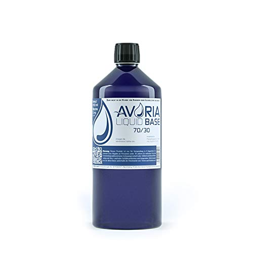 Avoria Deutsche Liquidbasen, e-liquid, 70/30, 850 ml
