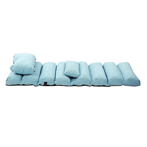 Ausla Chaise Lounges, sofá Plegable 2 en 1 5 Posiciones Sillón Perezoso Ajustable Sofá Moderno Sillón orejero Cama con Almohada para Dormitorio Sala de Estar Oficina