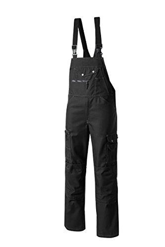 Pionier  workwear Herren Latzhose Revolution in schwarz (Art.-Nr. 2287) schwarz,Größe 44