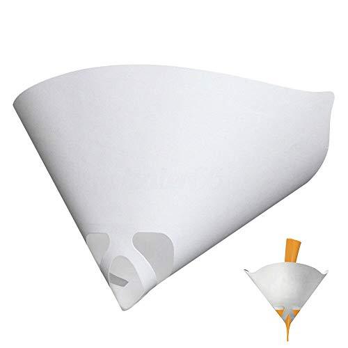 BonTime 50 stücke Einweg Konische Pappbecher Farbe Filter Siebe Sieb Nylon mesh Konische Kegel Filter Trichter