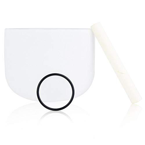 Pwshymi Crystal Music Bowl Tragbare Music Bowl für Mind Healing für Yoga Meditation