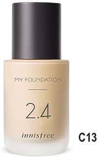 [イニスフリー] innisfree [マイファンデーション 30ml - セミマット 25種] My Foundation 30ml * Semi-matte 25 Shades [並行輸入品] (4. ハイ カバー [Level_4], C13 ライト ベージュ)