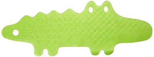 Ikea Alfombrilla para Bañera Cocodrilo, Caucho, Verde, 93x34x3 cm