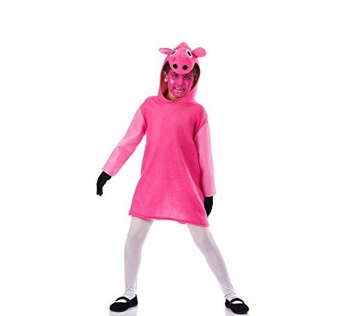Disfraz de Cerdita Rosa para niña