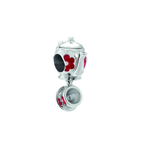 Chamilia Charms Disney theepot (2020-0855) zilver 925/- uit Alice in Wonderland