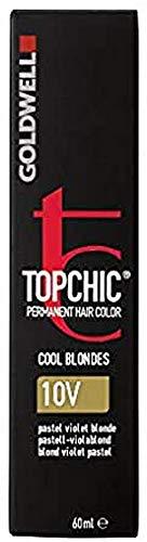 Goldwell Topchic Haarfarbe 10V pastell-violablond, 1er Pack (1 x 60 ml)