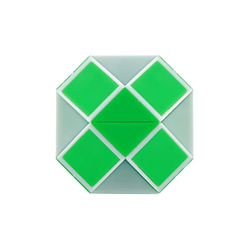 Nihlsen 1 Uds 24 segmentos Mini Regla mágica portátil Twist Puzzle Cube Game Twisty Toy Educational Cube Toy Color Aleatorio