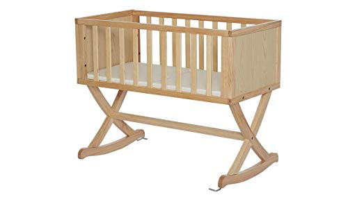 Find Bargain Baby Cradle in Natural