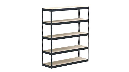 "Yaheetech 2 Pcs Heavy Duty Shelving, 5-Shelf Shelving Unit Adjustable Storage Rack, 73.5""H"