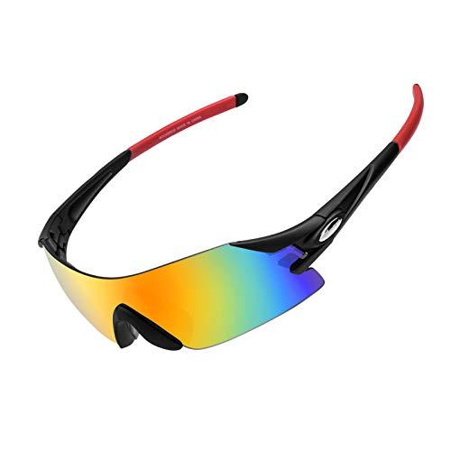 ROCKBROS Gafas de Sol Polarizadas Protección UV400 para Hombres Mujeres Bicicleta MTB Ciclismo Running Pesca Deportes al Aire Libre