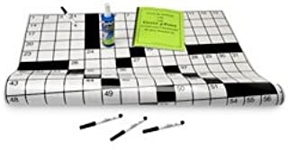 Nasco Additional Puzzle Book for Jumbo Laminated Crossword Puzzle Grid #1 9719643 Book #1 School and Senior Activity Products