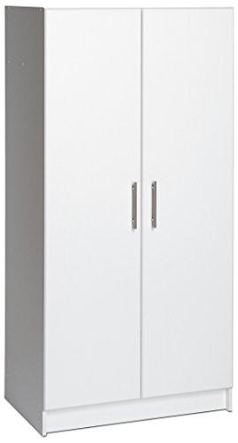 Prepac Elite Storage Cabinet, 32' W x 65' H x 16' D, White