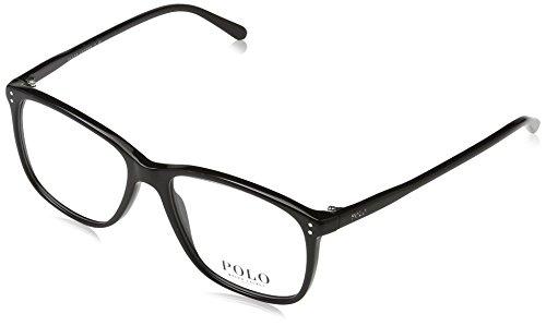 Polo Ralph Lauren 0PH2138, Monturas de Gafas para Mujer, Shiny Black, 53