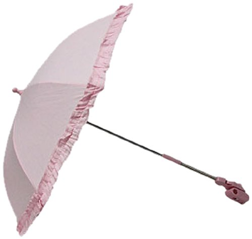 BEAUTIFUL BEGINNINGS Parasol with Removable Clip (Pink)
