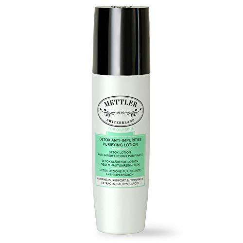 Mettler1929 Detox Lotion Anti-Imperfections Purifiante, 200ml │pour peau mixte et grasse │végan – sans parabènes – fabrication Suisse