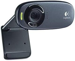 Logitech HD C310 Portable Webcam, 5MP, Black