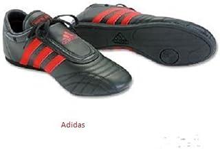 Adidas Martial Artsシューズ、ブラックW/レッドストライプ、メンズサイズ13