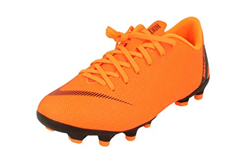 Nike Unisex-Kinder Jr. Mercurial Vapor XII Academy Fitnessschuhe, Mehrfarbig (Total Orange/Black-T 810), 36.5 EU
