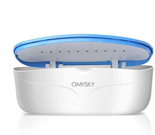 Uv-Sterilisatoren Gerät Uv-Licht Desinfektion Box-Reinigungs-Werkzeug Für Nagelzange Pinzette Und Reinigung Zahnbürste Handy Abgetötete Bakterien 99 9%