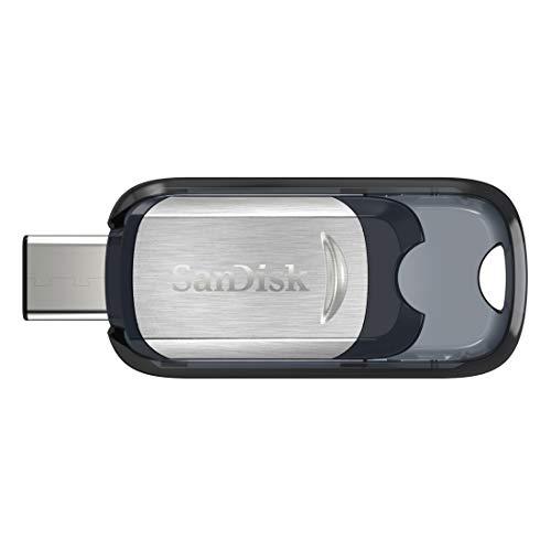 SanDisk Ultra Type-C Memoria Flash de 64 GB (USB 3.1 y hasta 150 MB/s), Silver