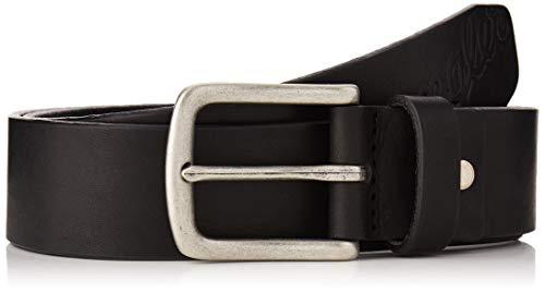 Wrangler Logo Emboss Cinturón, Negro (Black 101), 95 para Hombre