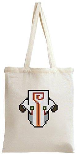 Dota 2 Hero Juggernaut Pixel Tote Bag