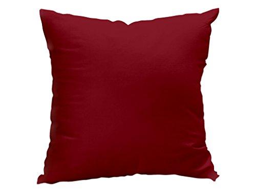 Soleil docre Cojín desenfundable 60 x 60 cm Alix Rojo