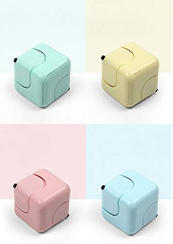 beautgreen 4 Pcs Infinity Cube Fidget Toy, Stress and Anxiety Relief Toy for Kids Adults Office,...