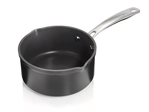 Original Brabantia Kasserole 16 cm Milch- Stiel- Topf Induktion antihaft Gastro
