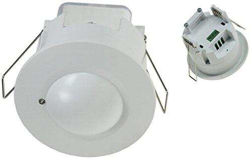 HF - Hochfrequenz Decken-Einbau-Bewegungsmelder Mikrowellensensor 360° LED geeignet 8m Detektion