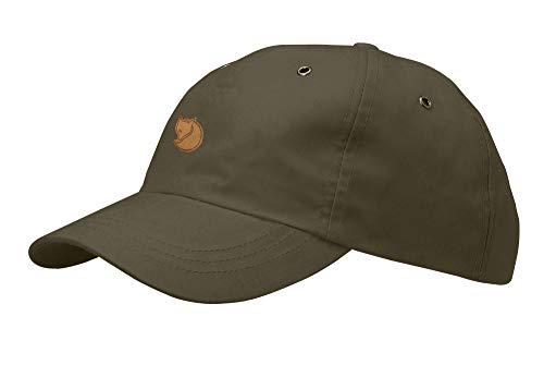 Fjällräven Erwachsene Kappe Helags Cap, Dark Olive, L-XL