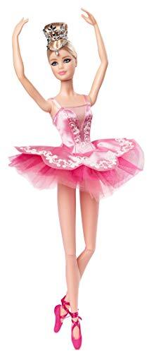 Barbie GHT41 - Barbie Signature Ballet Wishes Puppe, ca. 30 cm groß, mit Tutu, Spitzenschuhen und Diadem, Geschenk für Kinder ab 6 Jahren