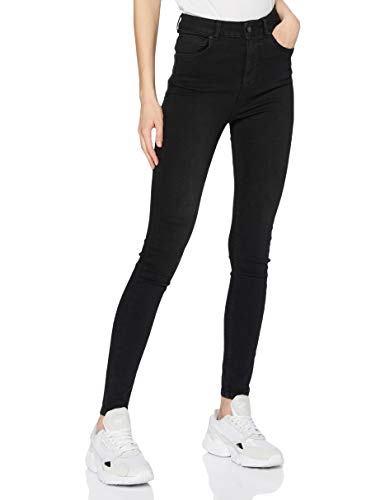 Superdry Damen HIGH Rise Skinny Jeans, Schwarz (Black 02A), 34W / 32L