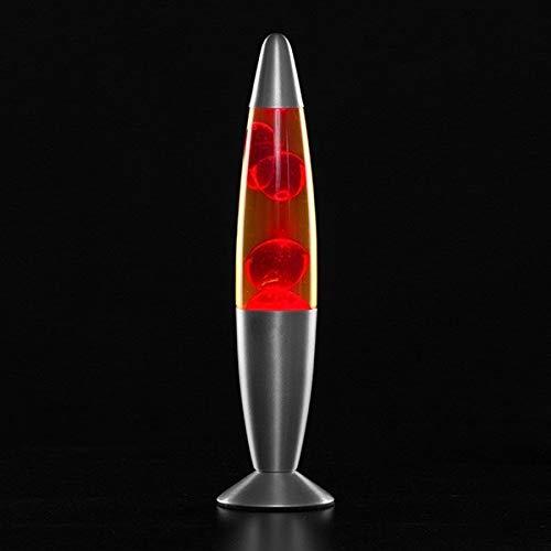 MODEZVOUS Lavalampe 35 cm, Magma-Lampe, Lavalampe, Lavalampe, 25 Watt Glühbirne im Lieferumfang enthalten, Kabel mit Schalter, Geschenkidee Weihnachten mit Leuchtmittel - Vet - 8,5 x 34 cm