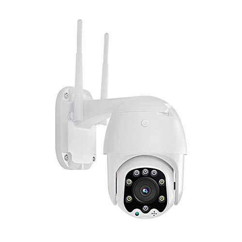 KiMilikke cámara IP WiFi 1080 p inalámbrico PTZ velocidad domo CCTV ir cámara de vigilancia seguridad al aire libre cámara de vigilancia casera