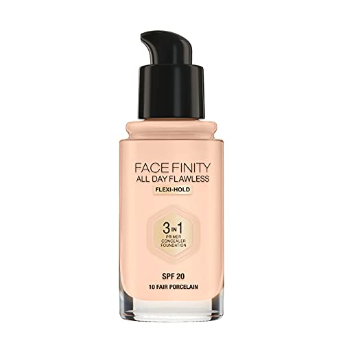 Max Factor Facefinity All Day Flawless 3 in 1 Foundation in 10 Fair...