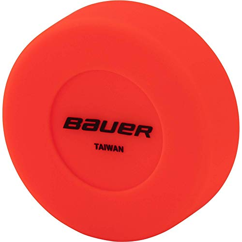 Bauer Puck - STK. Streethockey Ball, Orange, 1size