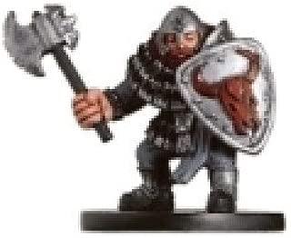 D & D Minis: Hill Dwarf Warrior # 7 - Aberations