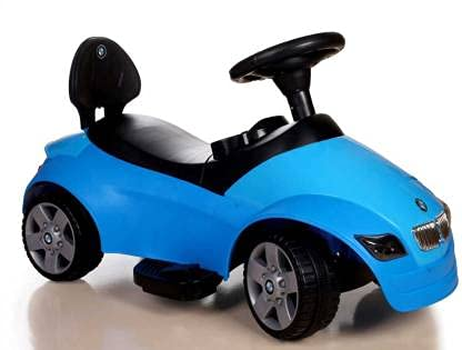 kidsROAR Ride On Car for Kids 1-5 Years Battery Operated Electric Magic Twister Car with Foot Accelerator (Blue)