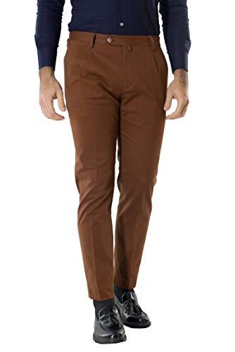 Carillo - Pantalón de Moda para Hombre, Elegante, con Bolsillo, Estilo Americano,...