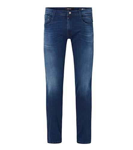 Replay Herren Anbass Jeans, 9 Medium Blue, 32/30