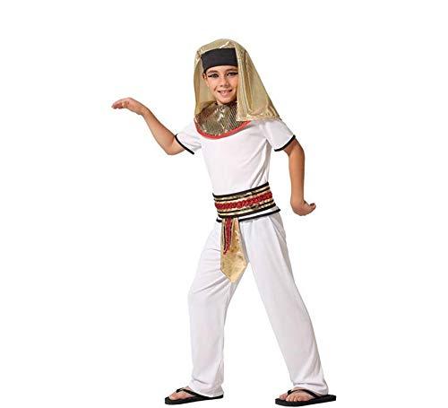 ATOSA-66298 - Disfraz egipcio para niño, color blanco, 10 a 12 años