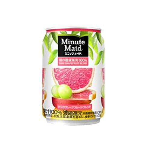 ミニッツメイドピンク・グレープフルーツ・ブレンド 280g缶×24本×1ケース 販売