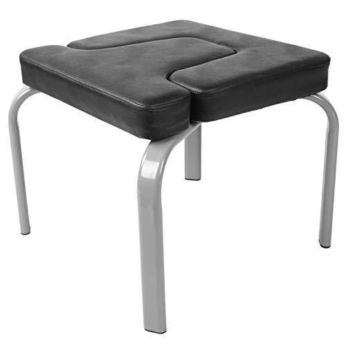 MOH Yoga Handstand Chair Multifunzione Fitness Yoga assistito Sedia Verticale Sgabello Verticale con Tappetino Morbido per Palestra Domestica