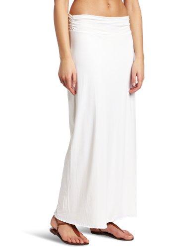 Soybu Reversible Maxi Skirt, Open Latice/White, X-Small