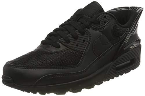 Nike Air MAX 90 FLYEASE, Zapatillas para Correr Hombre, Negro, 36 EU