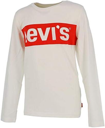 Camiseta Levi's Redband Beige de Manga Larga para Niño
