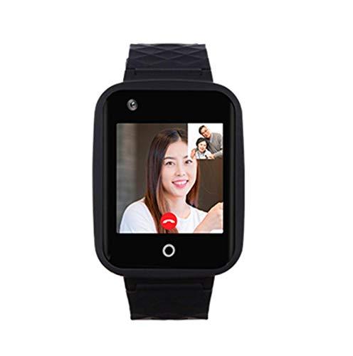 Jorwell 4G Ancianos Mobile Teléfono Móvil Smart Reloj, Chat Video Localizador De Ancianos A Prueba De Agua SOS, GPS, WiFi